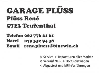 Garage Plüss